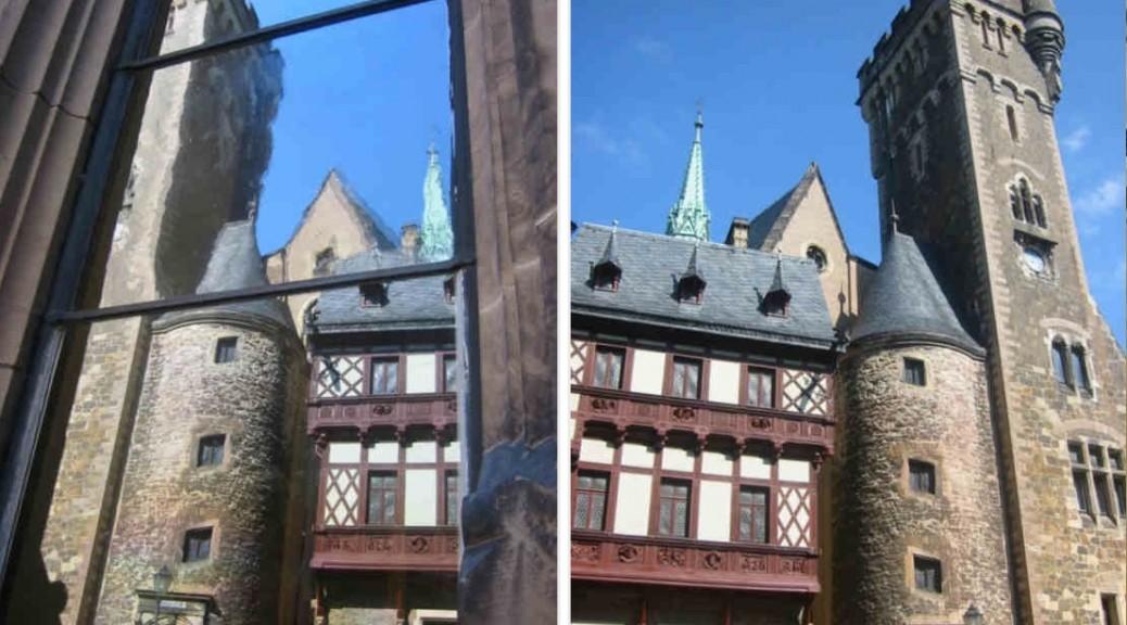 Schloss Wernigerode Spiegelung