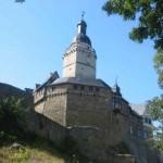 Burg Falkenstein und der Sachsenspiegel