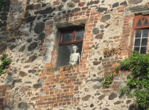 rosslau burg Skelett