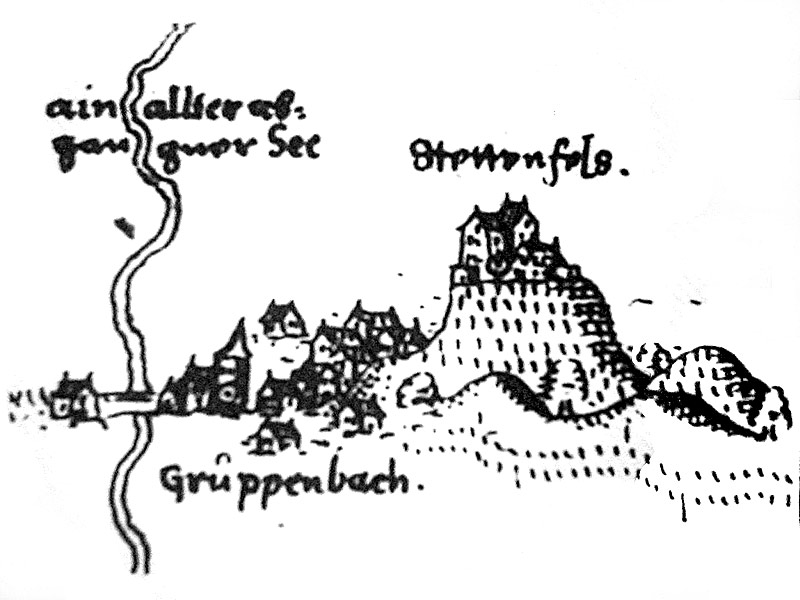Schloss Stettenfels 1598 ( Bild: gemeinfrei