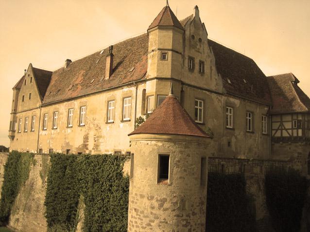Auf alt gemachtes Bilder der Burg / Foto: Burgerbe.de