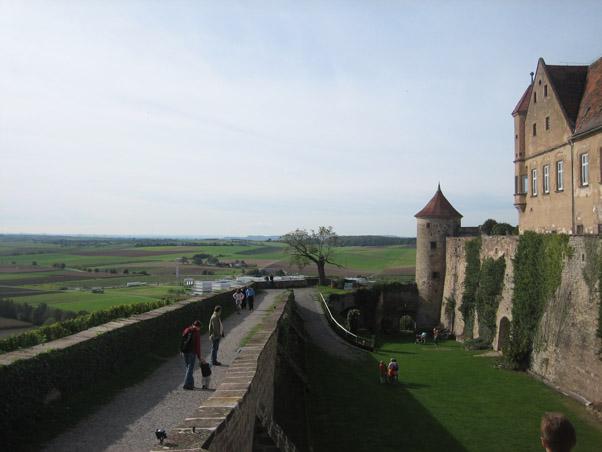 Aussicht von Schloss Stettenfels / Foto: Burgerbe.de