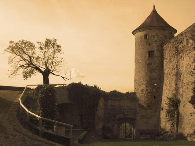 Ansicht von Schloss Stettenfels
