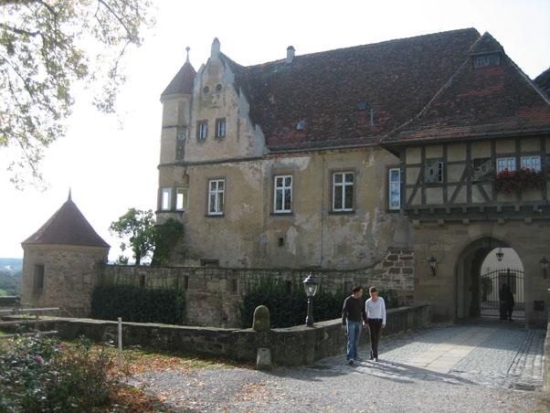 Das Tor zum Schloss Stettenfels / Fotos: Burgerbe.de