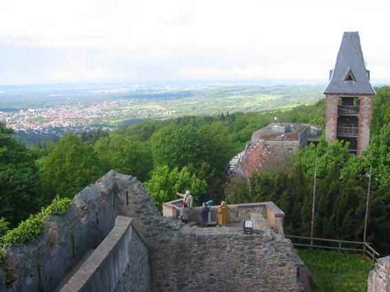 Burg Frankenstein im Odenwald / Foto: Burgerbe.de