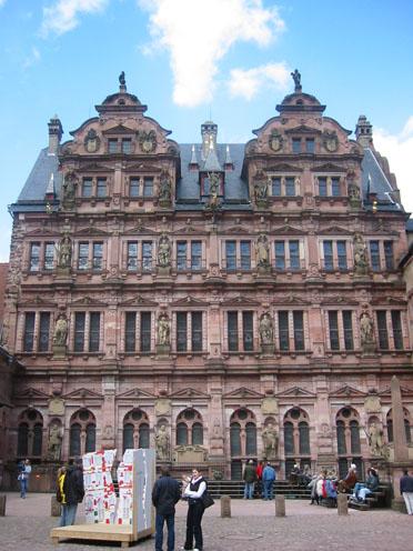 Friedrichsbau des Heidelberger Schlosses