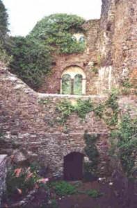 Nachdem Napoleons Truppen sich ausgetobt hatten, war das Palas eine Ruine.