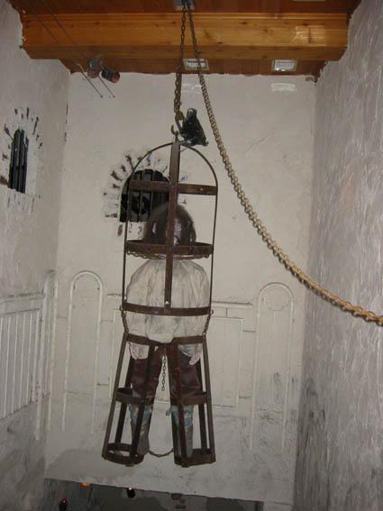 Exponat im Freiburger Foltermuseum.
