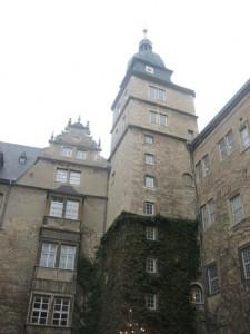 Der Bergfried von Schloss Wolfsburg