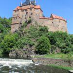 Frontal 21 stoppt Brücken-Bau vor Burg Kriebstein
