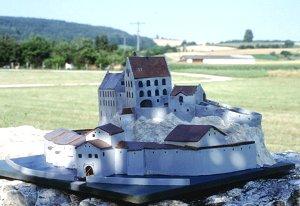 Modell der Anlage, gebaut von Schulkindern (Foto: Bernhard Eder)