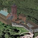 Im Flug um die Wartburg: Google Earth macht's möglich