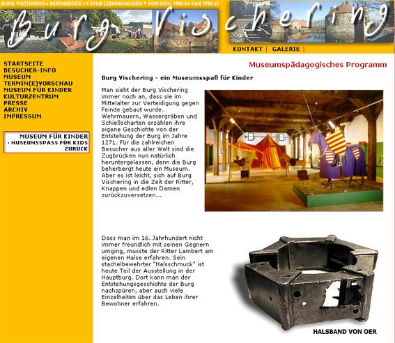 Abbildung des Halsbands auf der Homepage des Münsterlandmuseums / Bild: Screenshot