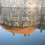 Das Spiegelbild von Burg Vischering