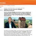 """MDR wählte """"Top Ten"""" der Burgen Mitteldeutschlands – Geht das bitte auch ohne Volksmusik?"""