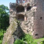 Unfall am Heidelberger Schloss: Zwei Arbeiter lebensgefährlich verletzt