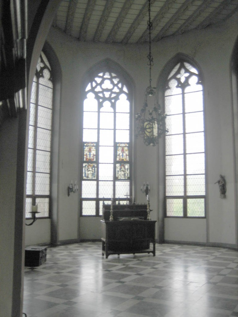 Die Kapelle von Burg Lahneck