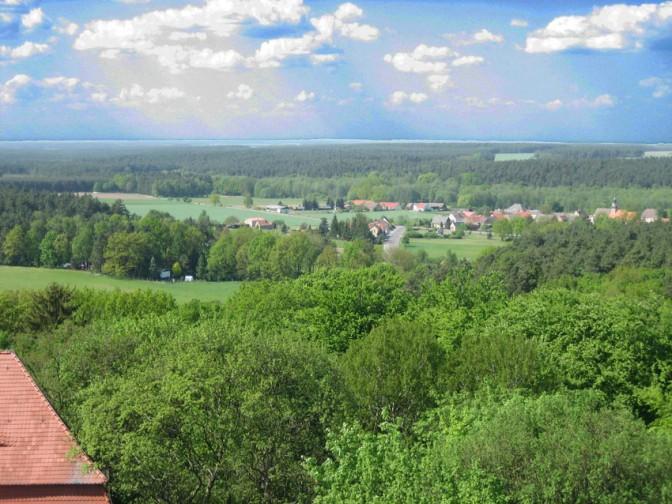 Aussicht vom Turm der Burg Rabenstein / Foto: Burgerbe.de