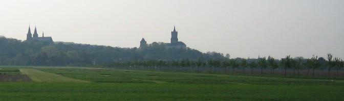 Die Silouette der Schwanenburg / Foto: Burgerbe.de