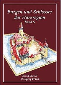 """Fünf Bände mit Zeichnunge von Wolfgang Braun umfasst die Reihe """"Burgen und Schlösser der Harzregion"""" / Bild: Amazon"""