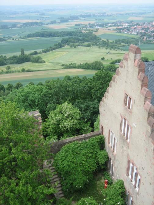 Blick von der Veste Otzberg