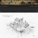 Wie sahen Burgen früher aus? Zeichnungen geben Antwort