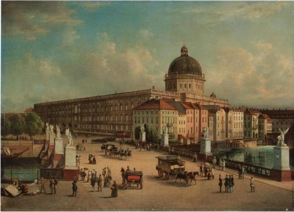 Das Stadtschloss zur Kaiserzeit / Bild: gemeinfrei