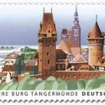 """Briefmarke feiert """"1000 Jahre Burg Tangermünde"""""""