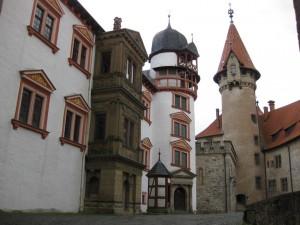 Innenhof der Veste Heldburg