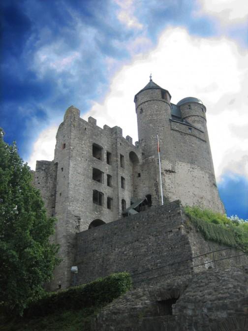 Burg Greifenstein: Ein beliebtes Foto-Motiv.