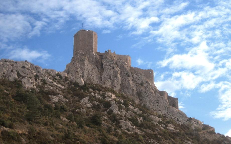 Chateau Queribus in den Pyrenäen / Foto: Burgerbe.de