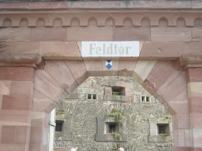 Das Feldtor zur Festung Ehrenbreitstein / Foto: Burgerbe.de