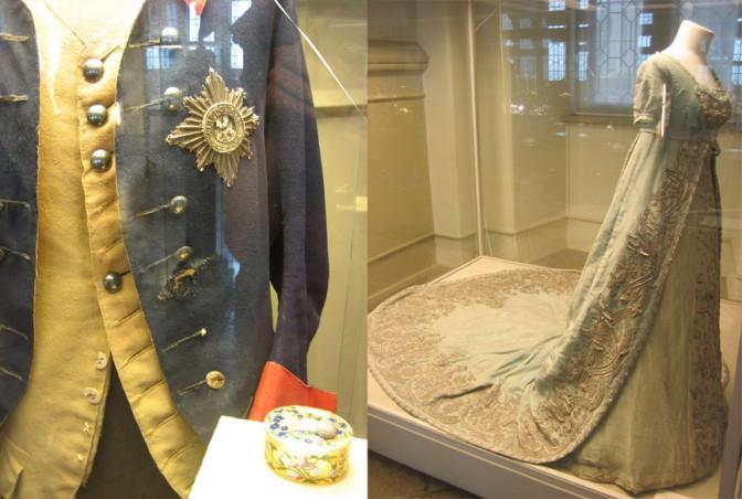 Friedrichs zerschossener Rock und Luises Tilsiter Kleid