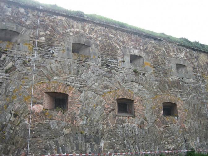 Schießscharten in der Festung Ehrenbreitstein / Foto: Burgerbe.de