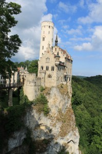 "Schloss Lichtenstein in south-west germany (build in the 19th century): ""Neuschwansteins little brother"""
