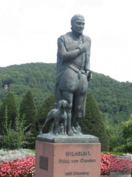 Wilhelm-von-Oranien-Denkmal auf dem Gelände von Schloss Dillenburg