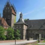 Schloss Heessen: Pauken beim Rauschen der Lippe