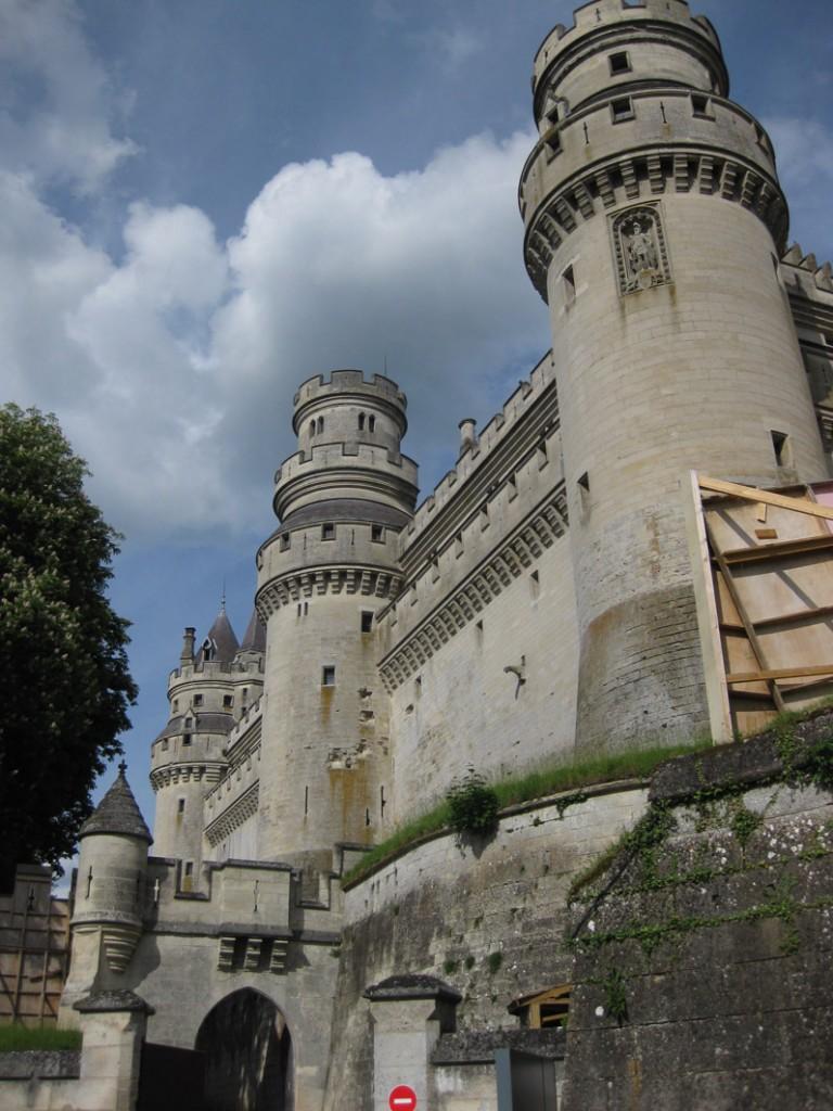 Chateau de Pierrefonds: Ganz schön repräsentativ / Fotos: Burgerbe.de