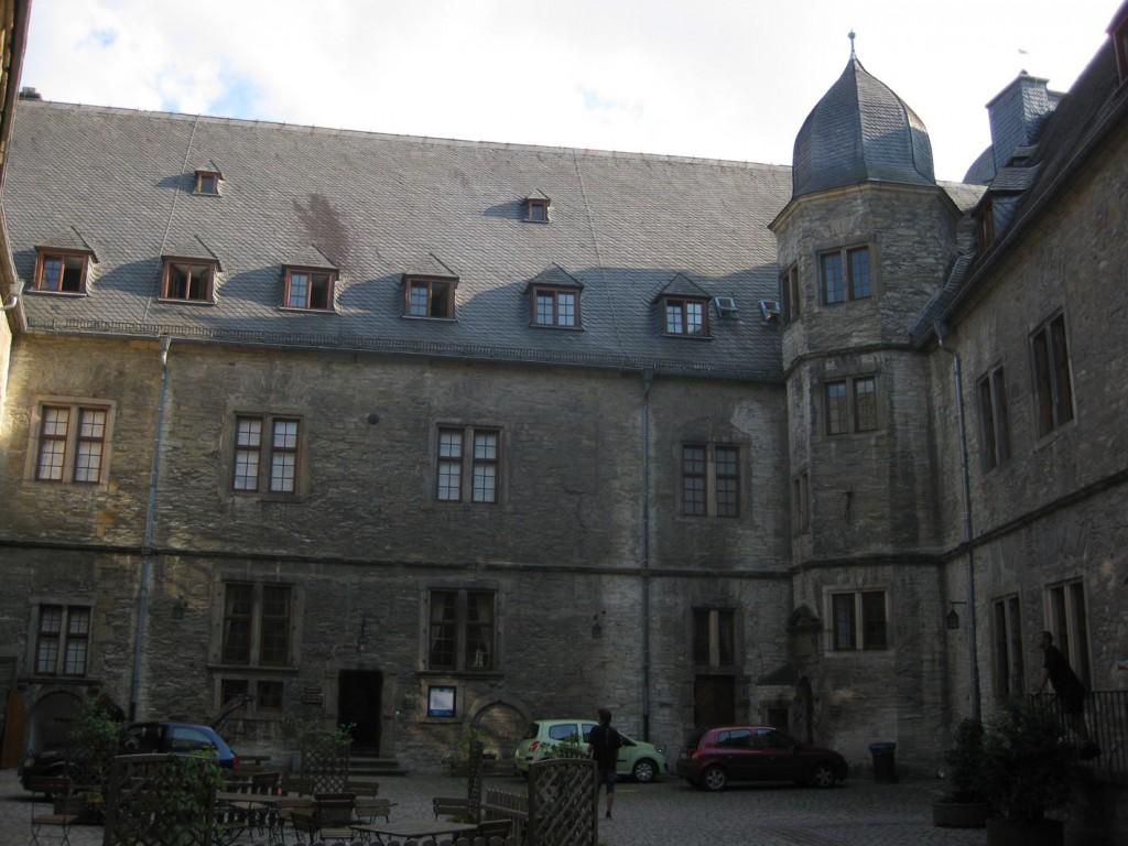 Der Innenhof der Wewelsburg