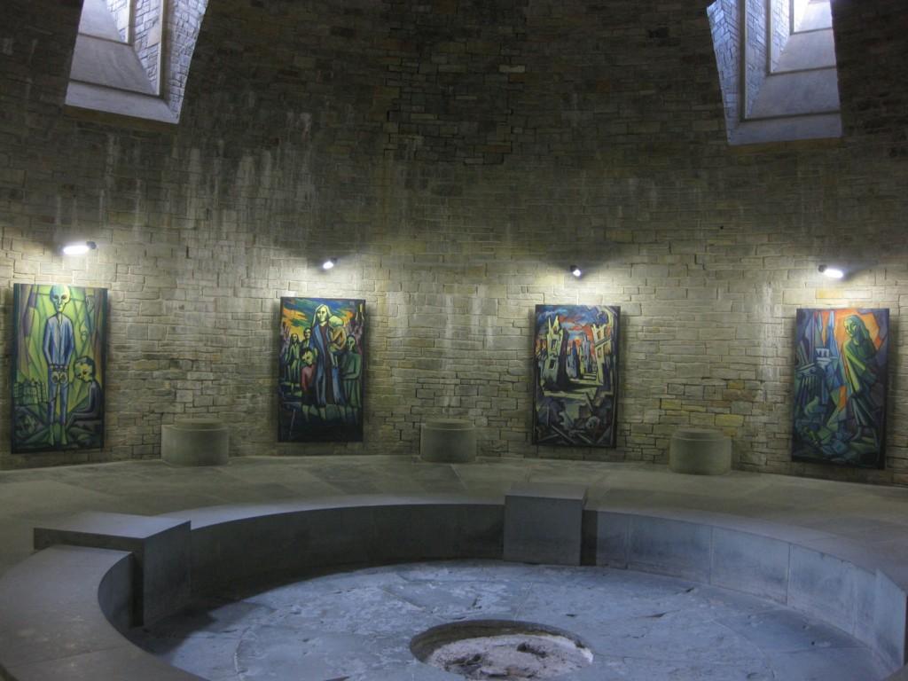 """Runder Saal """"Gruft"""" der Wewelsburg"""