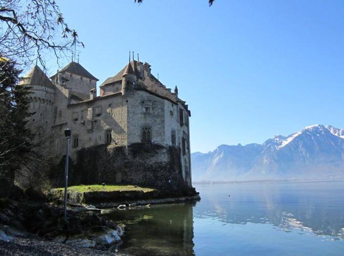 Schloss Chillon - von Norden