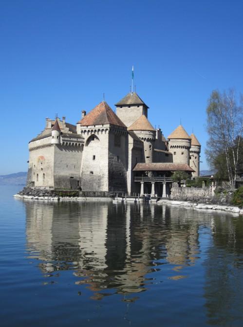 Chateau Chillon von Süden