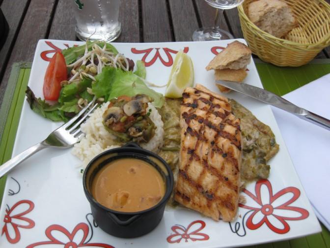 Lachs Salat St Nazaire