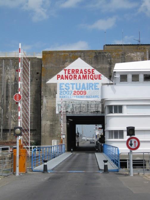 St. Nazaire: Der Schleusenbunker für U-Boote
