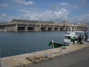 Saint-Nazaire: Der Bunker bot 14 U-Booten Platz