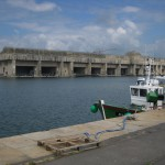 Der klotzige U-Boot-Bunker von Saint-Nazaire