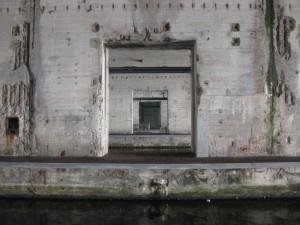 Durchblick im Bunker