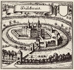 Das Schloss vor 1583 (Bild: Wikipedia)