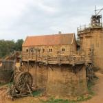 Zu Besuch in Guédelon – Die neue Burg wächst