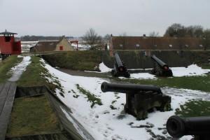 Kanonen auf den Wällen